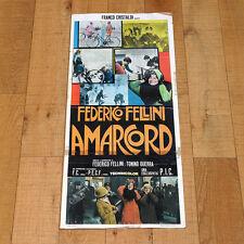 AMARCORD locandina poster affiche Federico Fellini Anni '30 Zanin Brancia O52