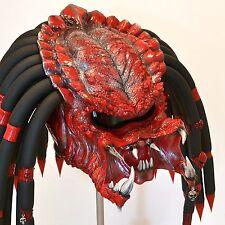 Red devil predator motorcycle helmet. DOT&ECE certified. FREE SHIPPING!