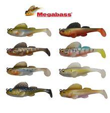 "MEGABASS DARK SLEEPER SOFTBODY SWIMBAIT 3"" BASS FISHING LURE SELECT SIZE COLOR"