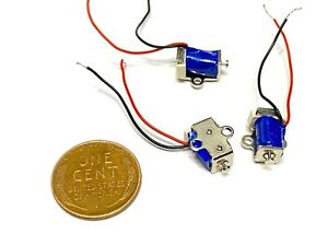 3 Pieces Linear Motion tiny Miniature Solenoid valve small x Pull Micro push c21