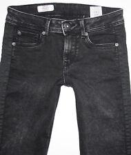 PEPE London Jeans * CHER DLX Slim Skinny * W 28 / L 32 schwarz