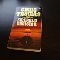 EMERALD DECISION 1987 ACTION Adventure THRILLER SPY Agent World War II Classics