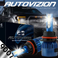 AUTOVIZION LED HID Headlight kit 9007 HB5 White for 1993-1997 Chrysler Intrepid