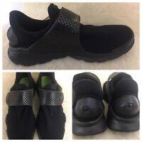 Nike Sock Dart Triple Black Running Shoes 819686-001 Mens Size 12