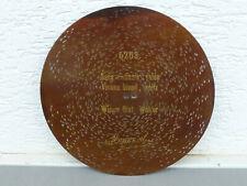 """Spieluhr-Blechplatte 30 cm, MONOPOL, """"Wiener Blut"""" für Polyphon etc."""