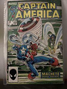 Captain America #302 (1968) - VF/NM *1st Appearance Machete*