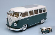 Vw t1 bus 1962 hot rider green w/white roof 1:24 tuning scala welly