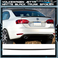 Fits 11-18 Volkswagen VW Jetta OE Factory Flush Mount Matte Black Trunk Spoiler