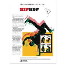 USPS New Hip Hop American Commemorative Panel