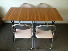 folding stacking dining cafe bistro canteen meeting class room tables chairs