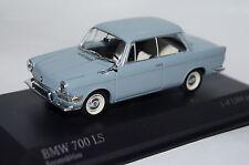 BMW 700 ls 1960 KERAMIKBLAU 1:43 MINICHAMPS NEUF & OVP 430023705