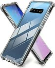 Clear Case For Samsung Galaxy S10 , S10E , S10 Plus Shockproof Clear Hard Cover