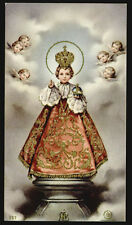 "santino-holy card""""ediz. FB n.127*GESU' BAMBINO DI PRAGA"