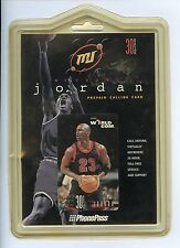 Rare MJ Michael Jordan World Com Phone Pass Calling card 30 Min