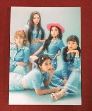 Red Velvet Cookie Jar 2018 Taiwan Promo Postcard (Post card)