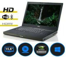 Gaming Dell Precision M4600 i7-2720QM nVidia Quadro 1000M HD Win 10 HDMI