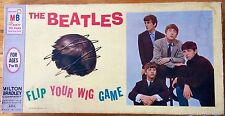 "VTG  BEATLES ""FLIP YOUR WIG"" BOARD GAME  1964 MILTON BRADLEY~FAB FOUR~JOHN~RINGO"