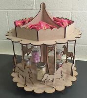 Y78 Carousel Party BIRTHDAY SWEET CANDY CART HORSE RIDING Wedding Table Display