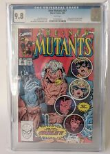 The New Mutants #87 Marvel CABLE first deadpool key xmen CGC 9.8 MINT