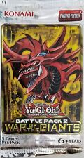 Yu-Gi-Oh BATTLE PACK 2 WAR OF THE GIANTS Booster Pack! Rare! BP02