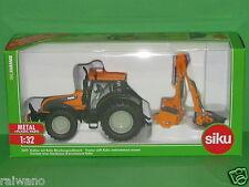 1:32 Siku Farmer 3659 Valtra Traktor mit Kuhn Böschungsmähwerk Blitzversand DHL