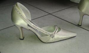 scarpe da sposa n.37