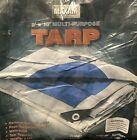 """NEW Maxam 8' x 10' All-Purpose Tarp, Hemmed Size 7'4"""" x 9'6"""" ~ SHIPS FAST!!!"""