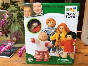 Plan Toy Modern Doll Family