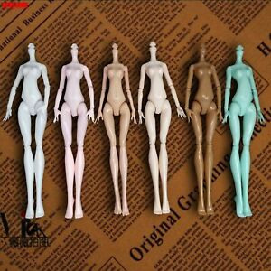 High Quality DIY Rotatable Dolls Naked Body Without Head for Monster High Dolls