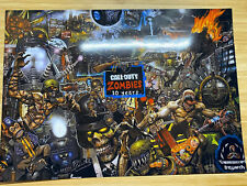 Call Of Duty: Zombies Treyarch 10 Years Of Zombies Poster A4 Print 170gsm Glossy