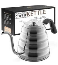 Gooseneck Kettle - Pour Over Coffee Kettle with Thermometer - Yakalla-
