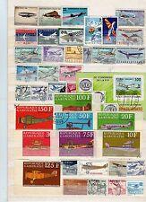 Lot Flugzeugmotive  o  (  32367  )