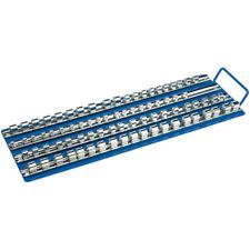 Draper 80 Piece Socket Retaining Tray Tidy Socket Storage Solution