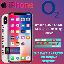 UNLOCK CODE FOR IPHONE 5 5S 5C SE 6 6S PLUS 6S 7 IPHONE 7 PLUS O2 UK UNLOCKING