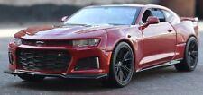 Maisto 1:24 2017 Chevrolet Camaro ZL1 Diecast Model Car Toy New In Box Red