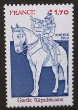 FRANCE 1980 Centenary of Republican Guard. Set of 1. Mint Never Hinged. SG2380.