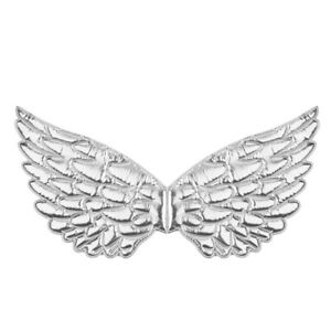 US Kids Glossy Metallic Angel Wings for Photography Masquerade Cosplay Party