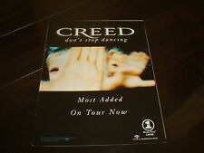"""Creed ad for hit """"Don't Stop Dancing"""" Scott Stapp, Mark Tremonti"""