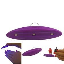 6W LED Light UV Lamp Nail Dryer Art Curing SUN Gel Gelish Timer Polish