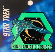 Star Trek - Xindi Aquatic Cruiser - Sammlerstück Pin - Brandneu FS0232