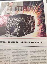 N1-6 Ephemera 1940s Ww2 Advert Koppers Company Pittsburgh Angel Of Mercy