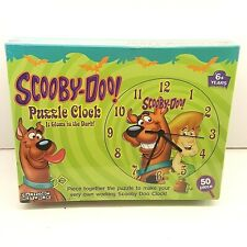 Scooby Doo Puzzle Clock cartoon network