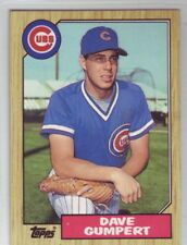 1987 Topps Baseball Chicago Cubs Team Set with Traded (Maddux rookie card)