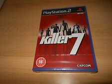 Killer 7 SONY PLAYSTATION 2 PAL * NEUF * Scellé