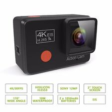 PRUVUE PV53 4K Touchscreen Action Camera 12MP SONY, 4K/30fps Resolution, Hi3559