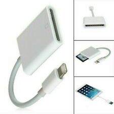 Lightning to SD Card Camera Reader Adapter for iPhone XR XS max X iPad Pro Mini