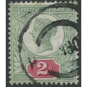 Great Britain - Victoria - 1887 - SG199 - 2d - USED - CV, £260