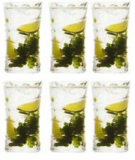 Box of 6 Ring Cocktail mojito glasses Highball glasses