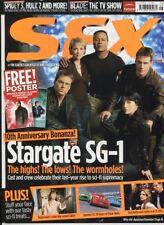 Sfx #146 Aug.2006 Stargate Sg-1 Buffy Spidey 3 Speedy unread Mbx109