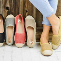 Summer Women Mesh Loafers Round Toe Ankle Flats Sneakers Casual Slip On Shoes SF